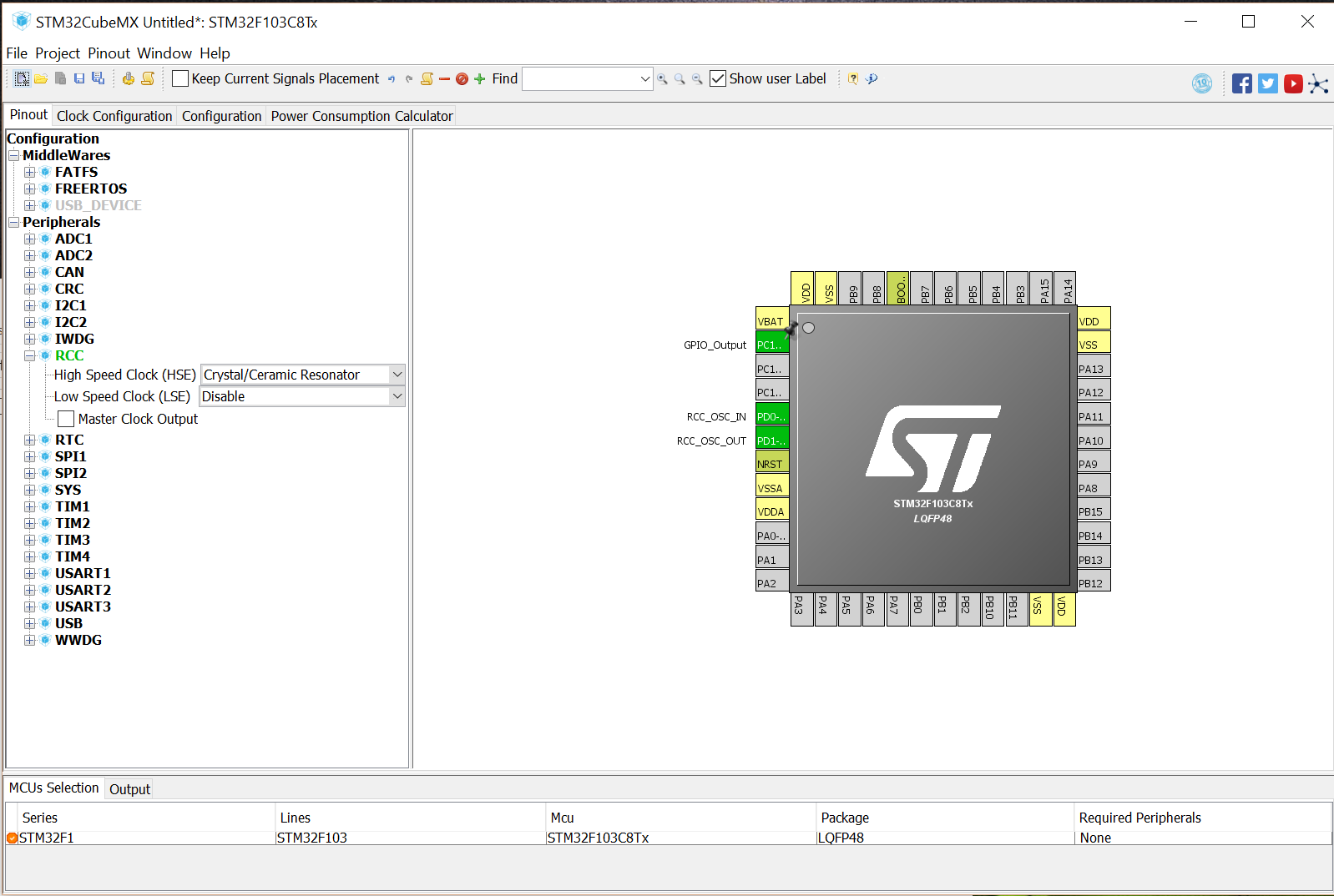 Stm32cube Example Projects